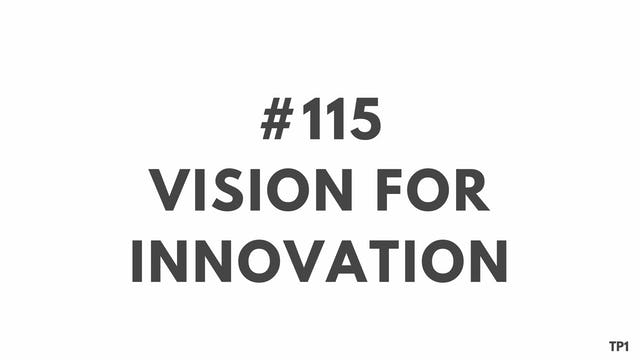 115 98 TP1 Vision for innovation