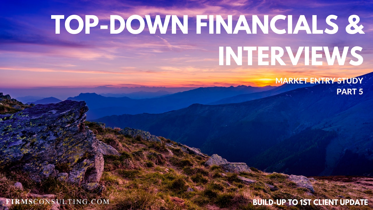 US P5 Top-Down Financials & Interviews
