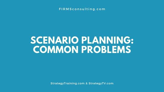 88 FSS Scenario planning's common problems