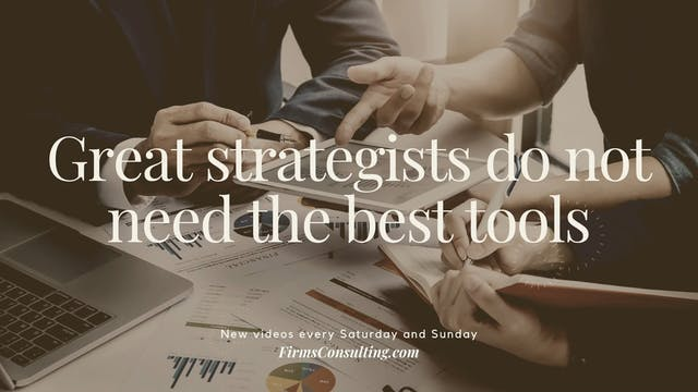 359 FCI Great strategists do not need...