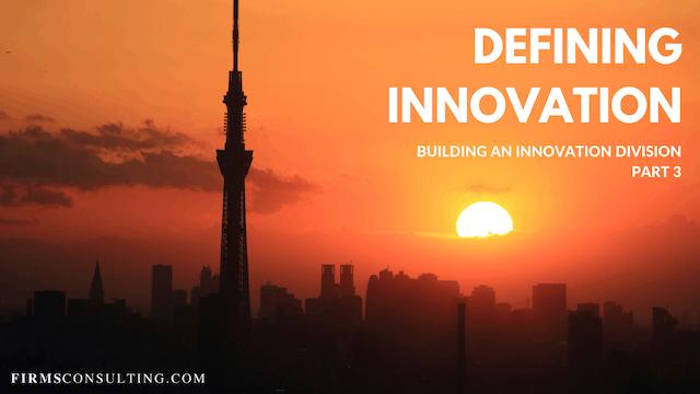 TP1 3 Defining Innovation