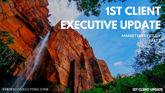 US P7 1st Client Executive Update
