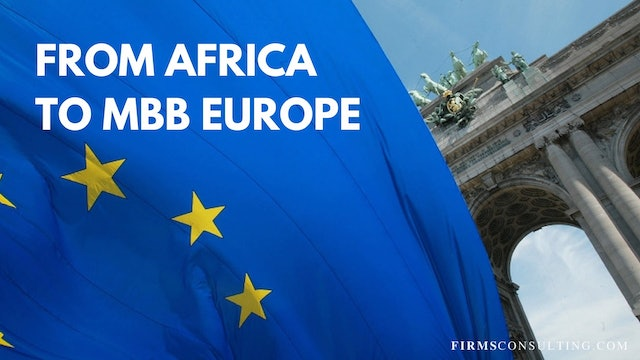 3 TCO Client Interview: From Africa to MBB Europe