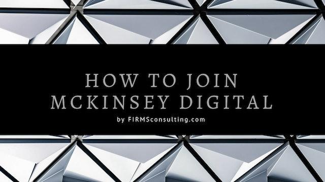 349 Q&A #5 How do I join McKinsey Digital