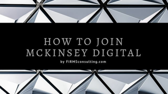 349 Q&A #5 How do I join McKinsey Dig...