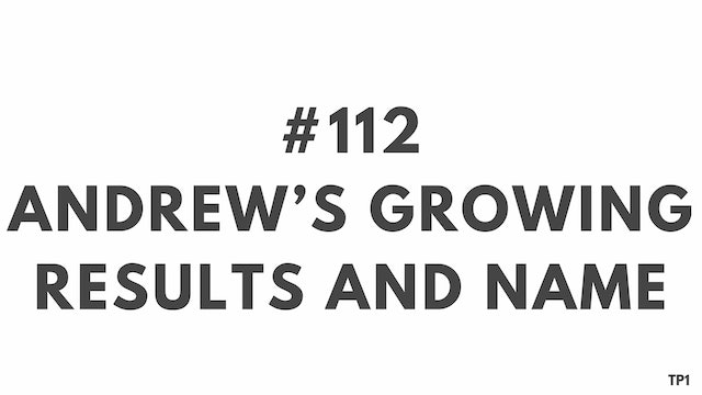 112 95 TP1 Andrew's growing results and name