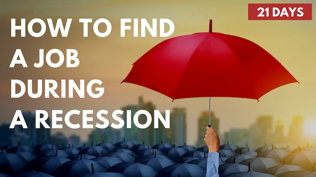 How to Find a Job During a Recession