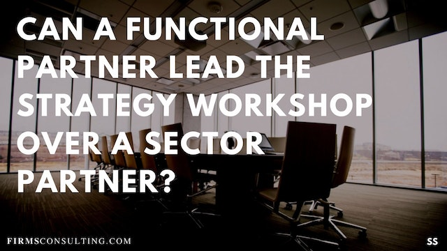 69 FSS Can a functional partner lead ...