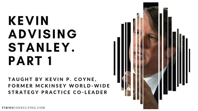 Kevin Advising Stanley. Part 1