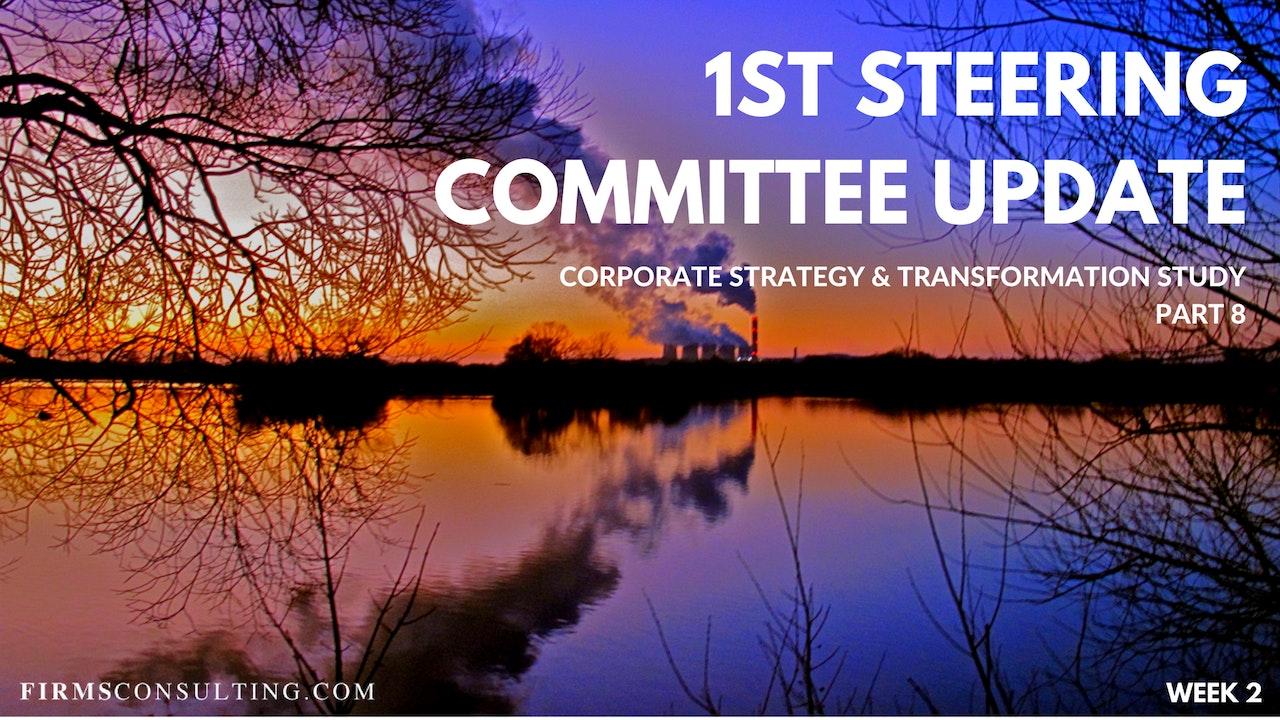 CS&T P8 W2 1st Steering Committee Update