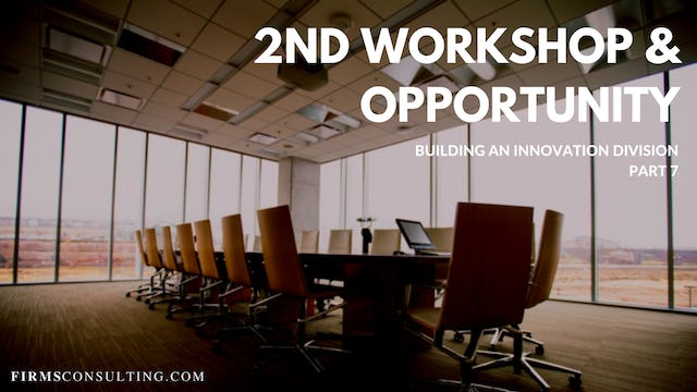 TP1 7 2nd Workshop & Opportunity