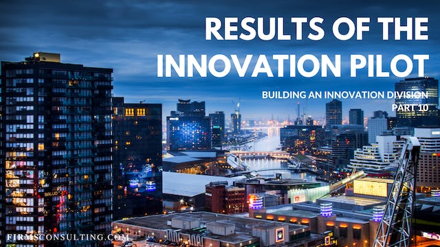 TP1 10 Results of the Innovation Pilot