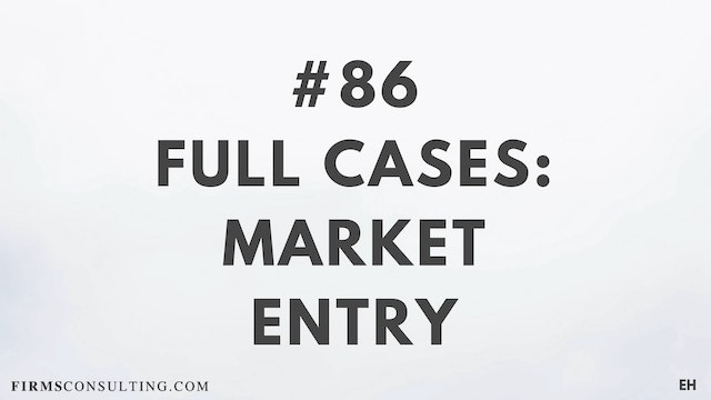 86 15 3 3 1 EH Market entry cases. Pa...