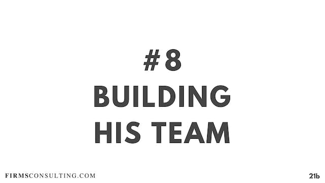 8 21D RC Building his team