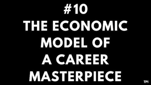 10 TP1 The economic model of a career...