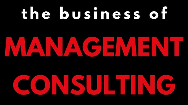 1 FMC The business of consulting