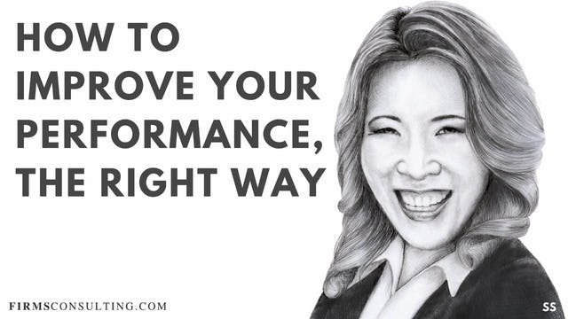 68 FSS How to Improve Your Performance, The Right Way