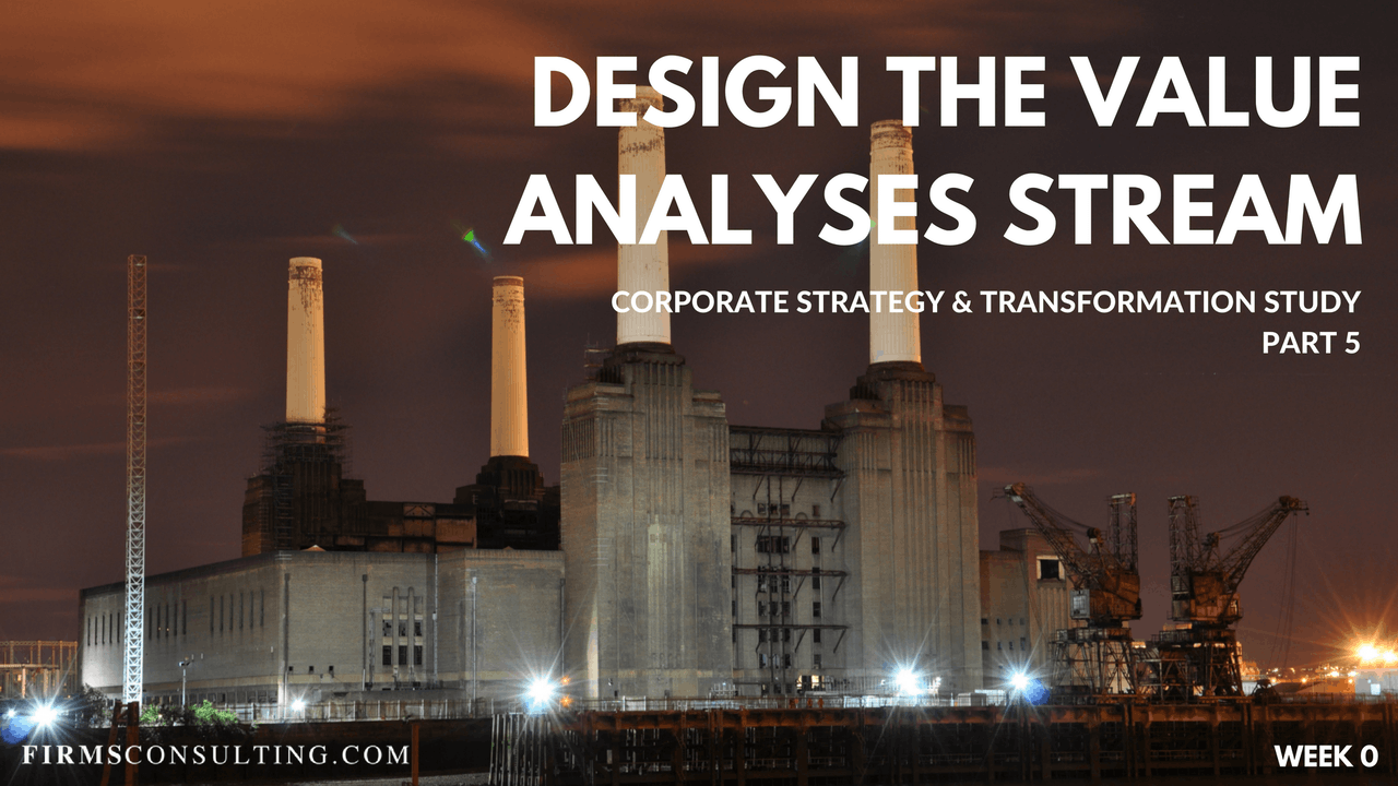CS&T P5 W0 Design the Value Analyses Stream & Finalize Proposal