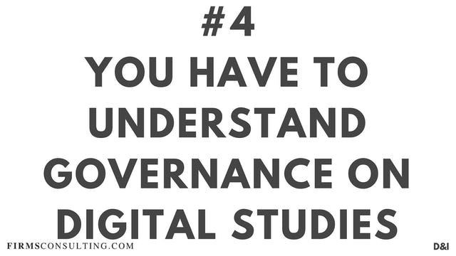 4 D&IT The one thing you must understand on digital studies