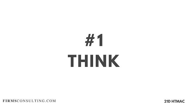 1 21D HTMAC Part 1: Think