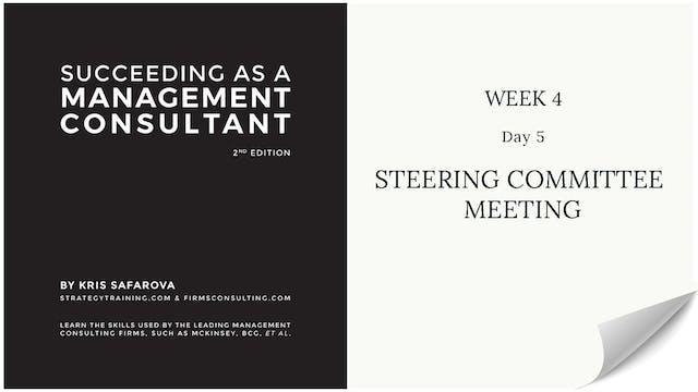 029 SAAMC Week 4 - Day 5 Steering Com...