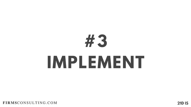3 21D IS Implement
