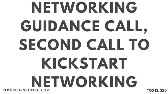 N3 Networking Guidance Call, Sanjeev ...