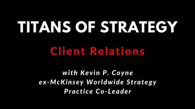 TOS Client Relations with Kevin P. Co...