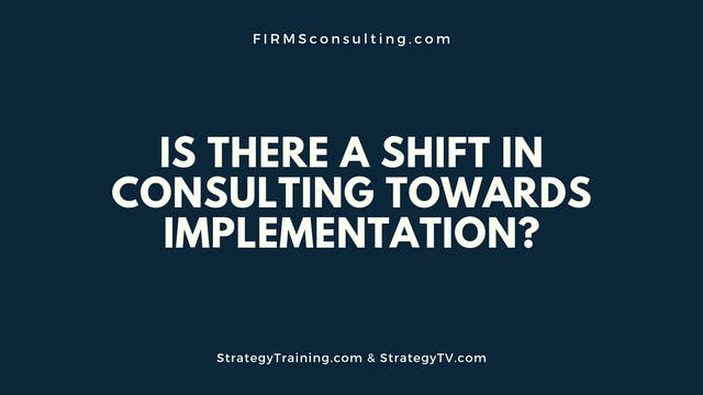 351 FCI Is there a shift in consultin...