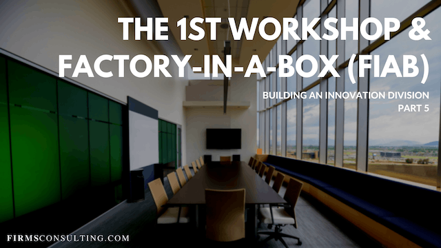 TP1 5 1st Workshop & Factory-in-a-Box