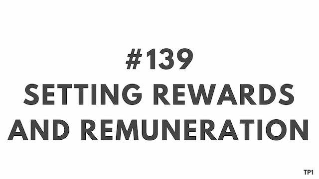 139 112.11 TP1 Setting rewards and remuneration