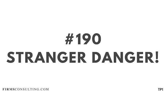 190 115.3.3 TP1 Stranger danger