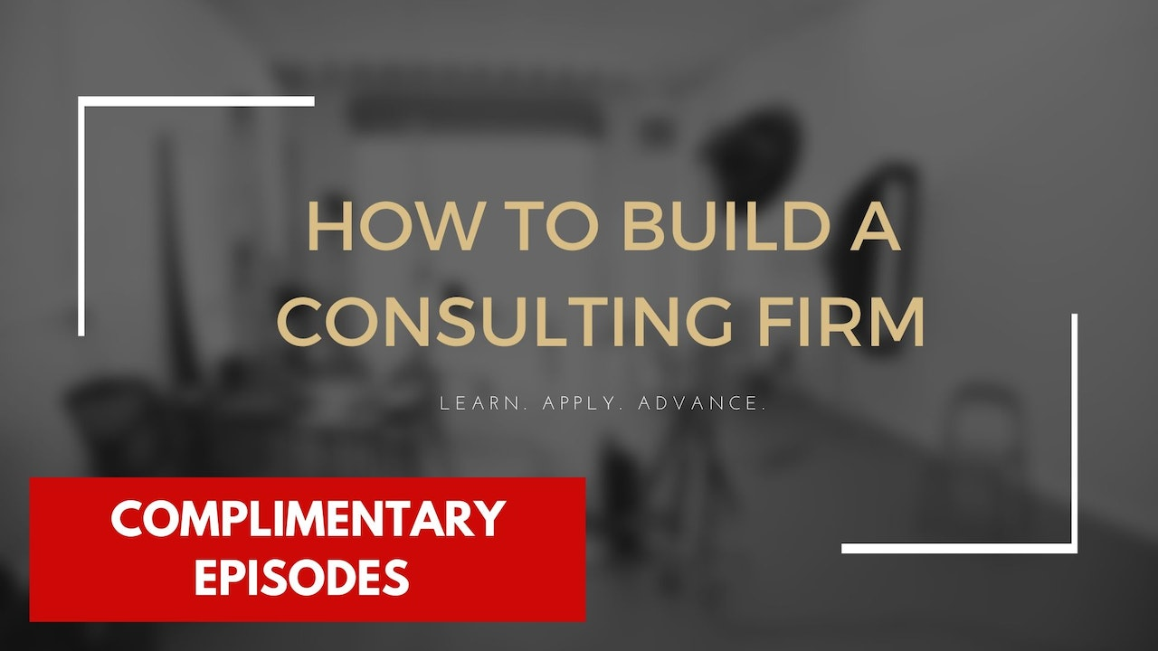 How to Build a Consulting Firm