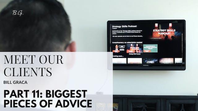 CD BG p11 Biggest piece of advice for...