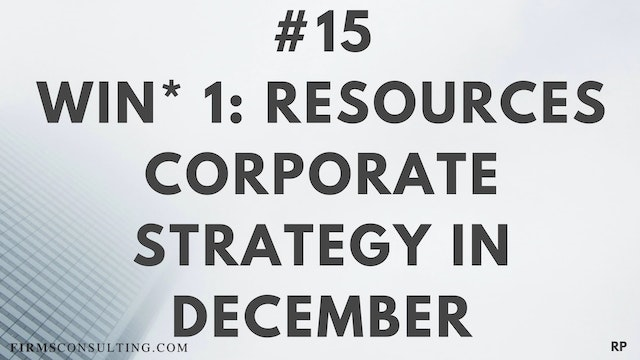 15 RP 15.1 Win 1- Resources - Corpora...
