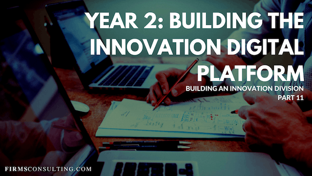 TP1 11 Year 2: Building the Innovation Digital Platform