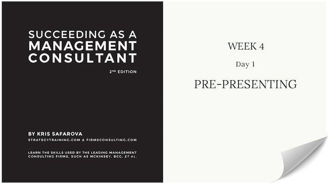 026 SAAMC Week 4 - Day 1 Pre-Presenting