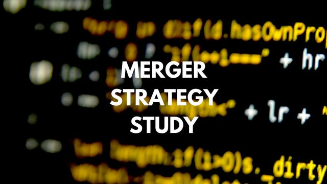 M&A P4 416 Why do we start the analyses here and not in another area?