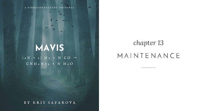 016 Mavis Chapter 13 Maintenance