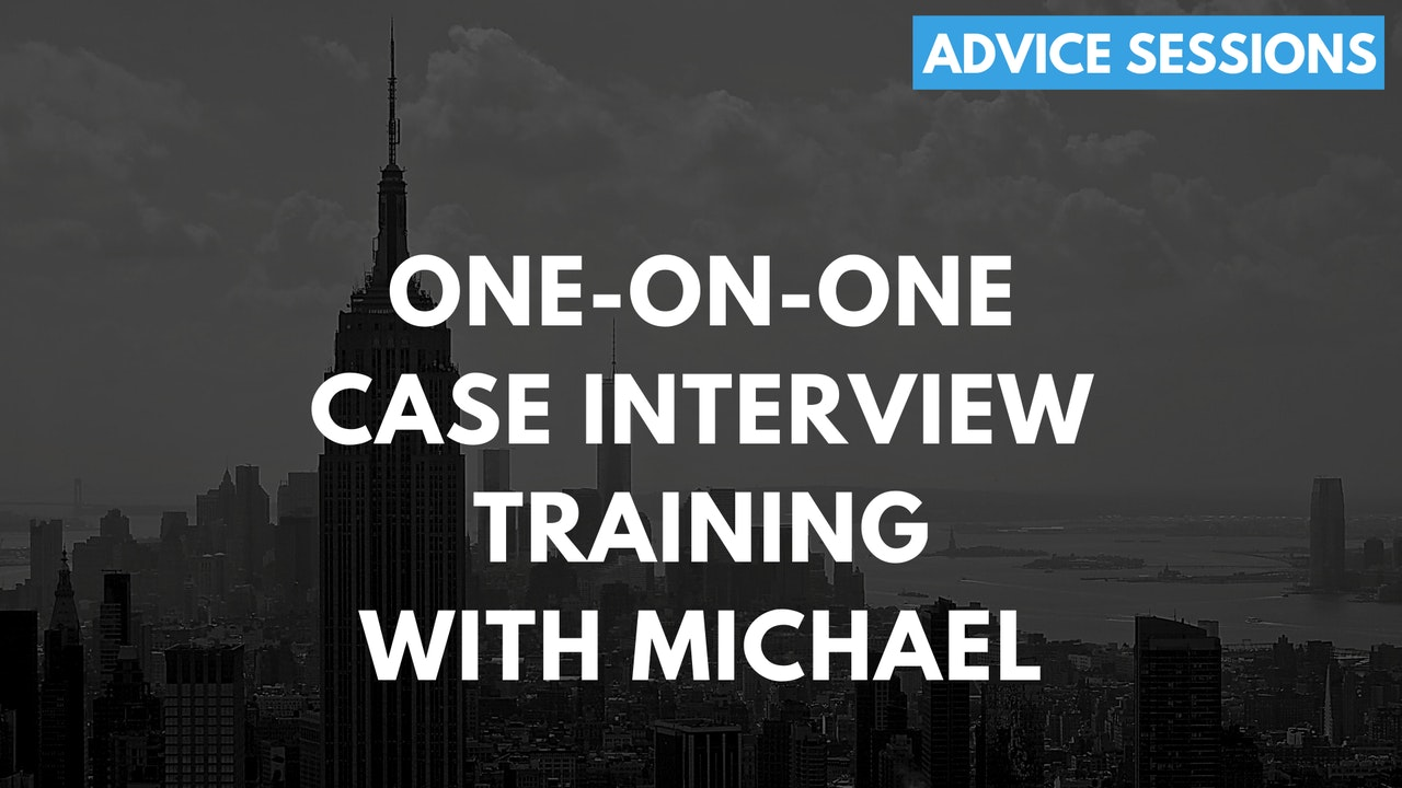 Case Interviews & FIT & Career