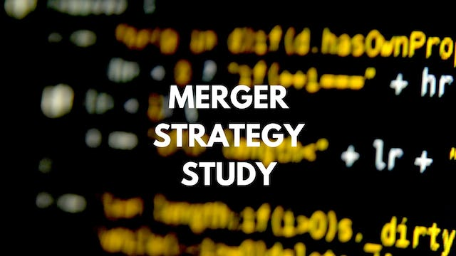 M&A P15 156 Steps to achieve the merger value