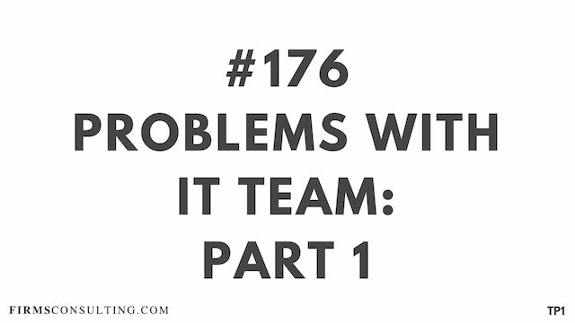 176 113.32 TP1 Problems with IT team-...