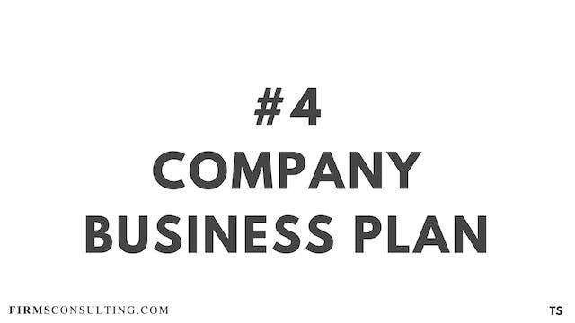 4 TS 3 Company business plan