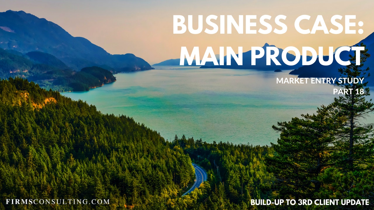 US P18 Business Case: Main Product