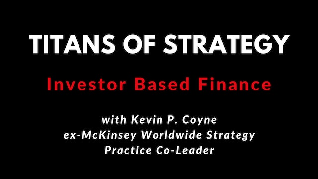 TOS Understanding Investor Finance with Kevin P. Coyne 4K