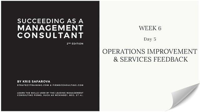 034 SAAMC Week 6 - Day 5 Operations I...