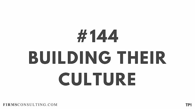 144 112.16 TP1 Building their culture