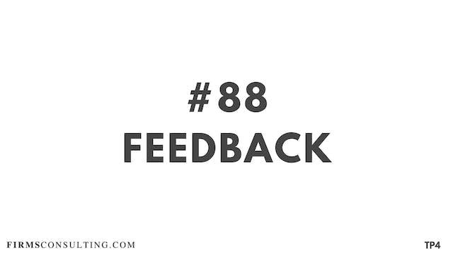 88 BAR 19.16 Feedback