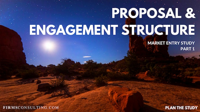 US P1 Proposal & Engagement Structure