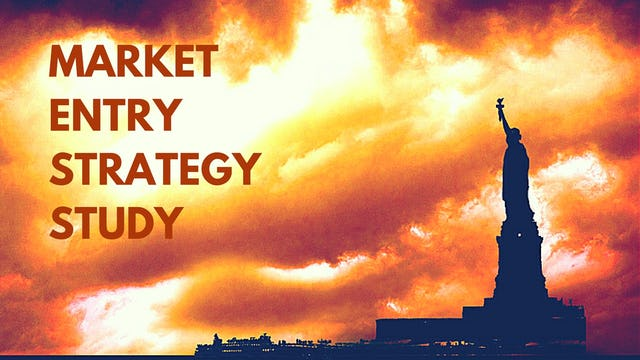 PREVIEW 1: MARKET ENTRY STRATEGY TRAINING